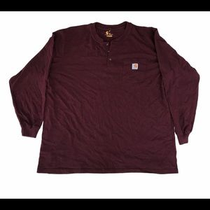 Carhartt Pocket Tee Long Sleeves